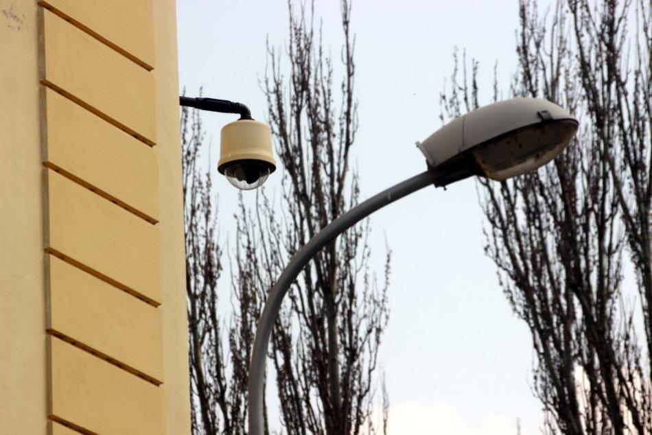 FOTO: Kamerový systém v Nitre