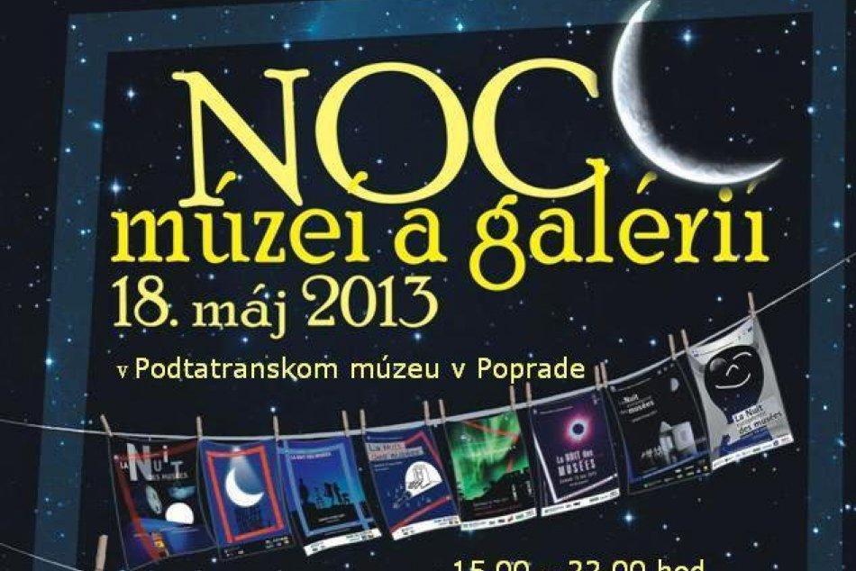 Noc múzeí a galérií môžeme zažiť aj v Poprade.