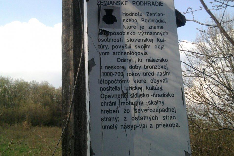 Tip na výlet: Hradisko v Zemianskom Podhradí