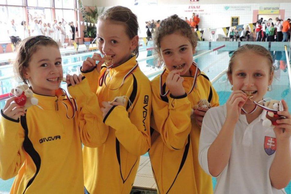 Plávanie: Výborné výsledky najmladších Humenčaniek v celoslovenskej konkurencii