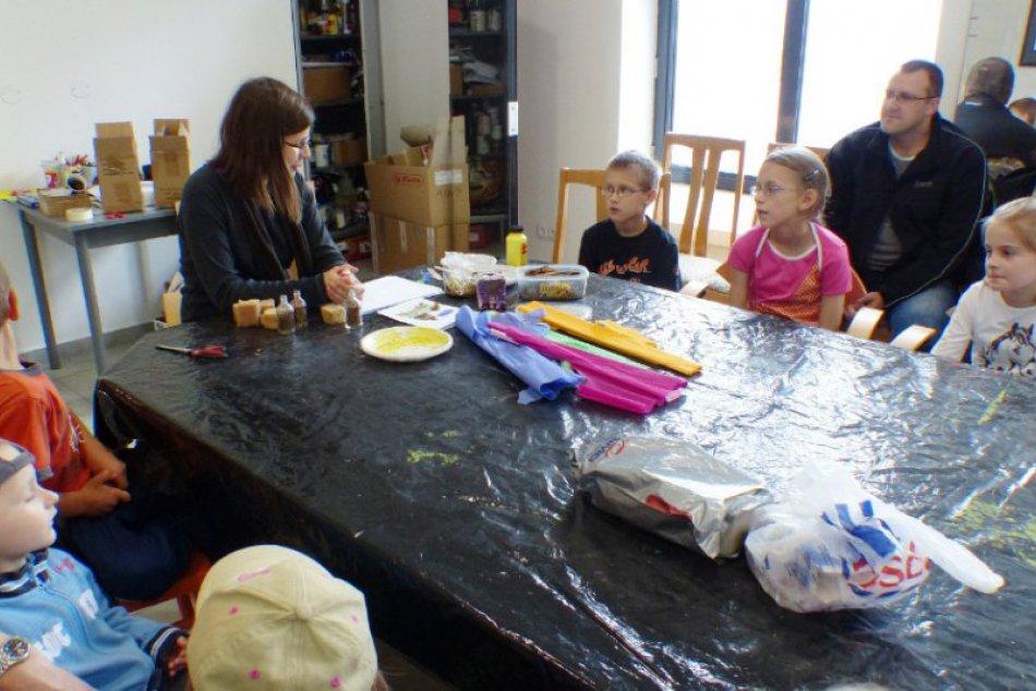 Deň detí 2013 v Poprade - výtvarné dielne v TG, Ja a môj psík v CVČ