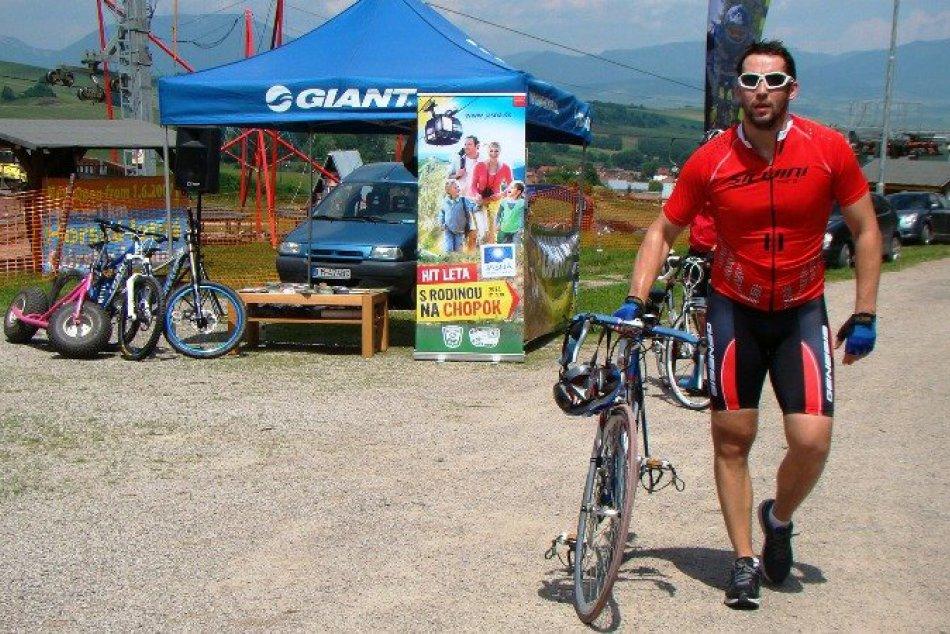 15.06.2013: Krst novej cyklotrasy z Pribyliny do Vlkolínca