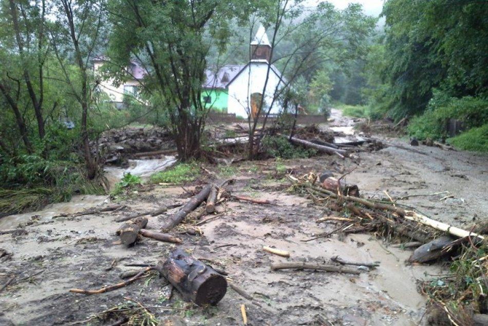 BB kraj: Odstraňovanie následkov lokálnych povodní