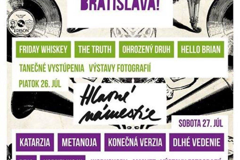 Rozbaľ to, Bratislava! pokračuje na Hlavnom námestí 26. júla!