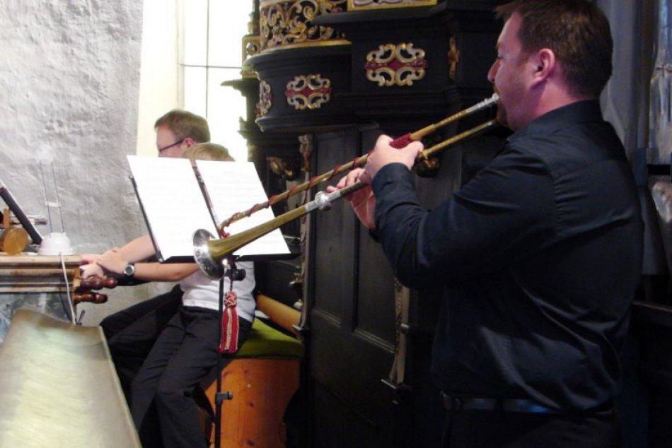 V Spišskej Sobote zneli tóny trúbky a historického organu
