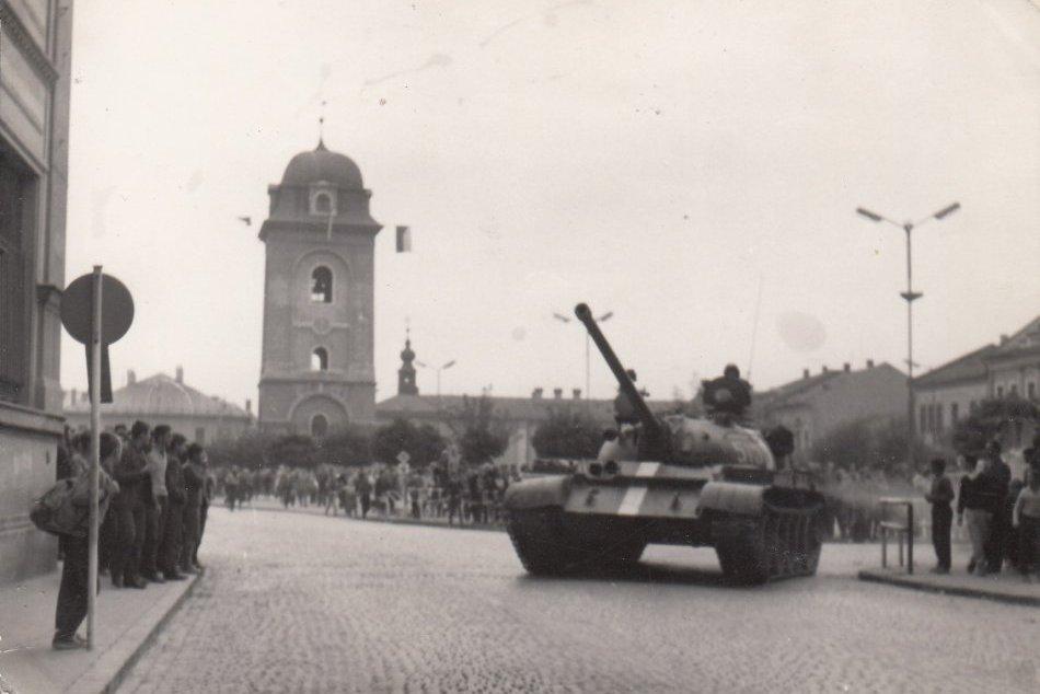 Okupácia Brezna vojskami Varšavskej zmluvy v auguste 1968