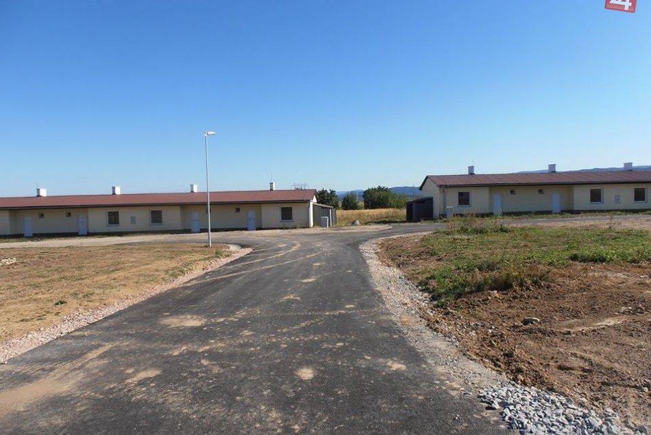 Nové cesty v osade Strelník
