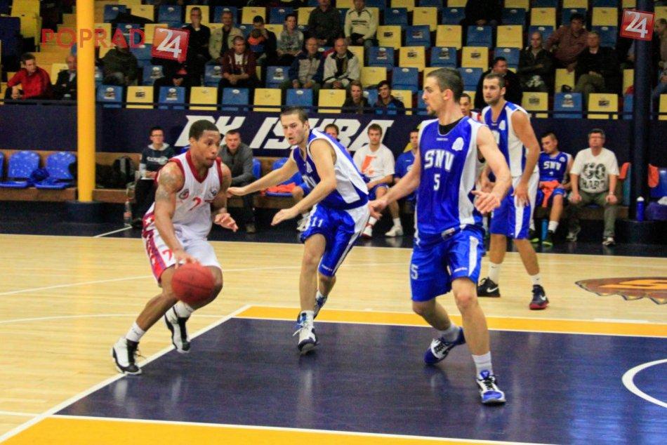 BK Iskra Svit - BK Lions Jindřichův Hradec 105:99