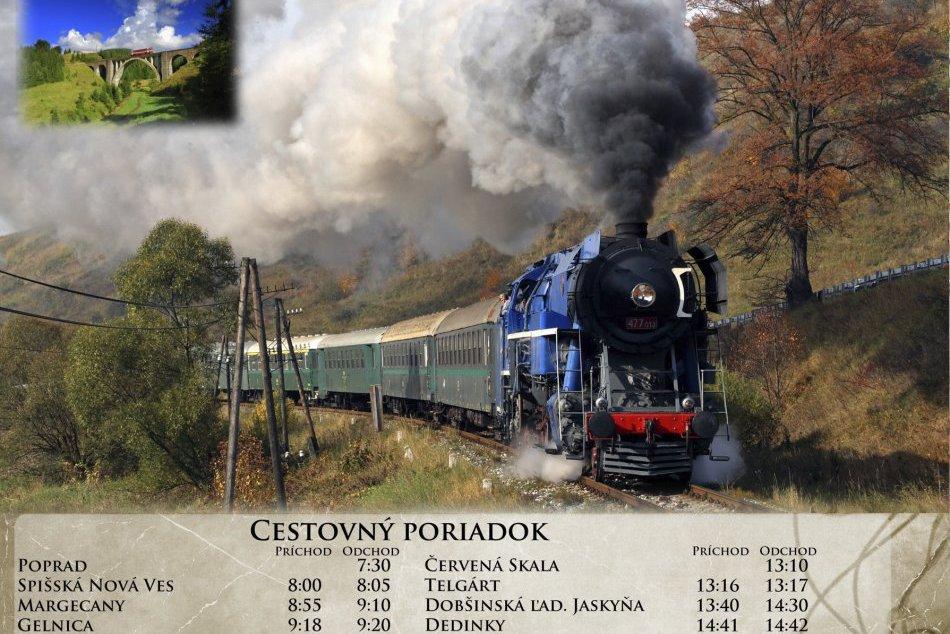 Tip na výlet: Historickým vlakom z Popradu na jednu z najkrajších tratí Slovensk