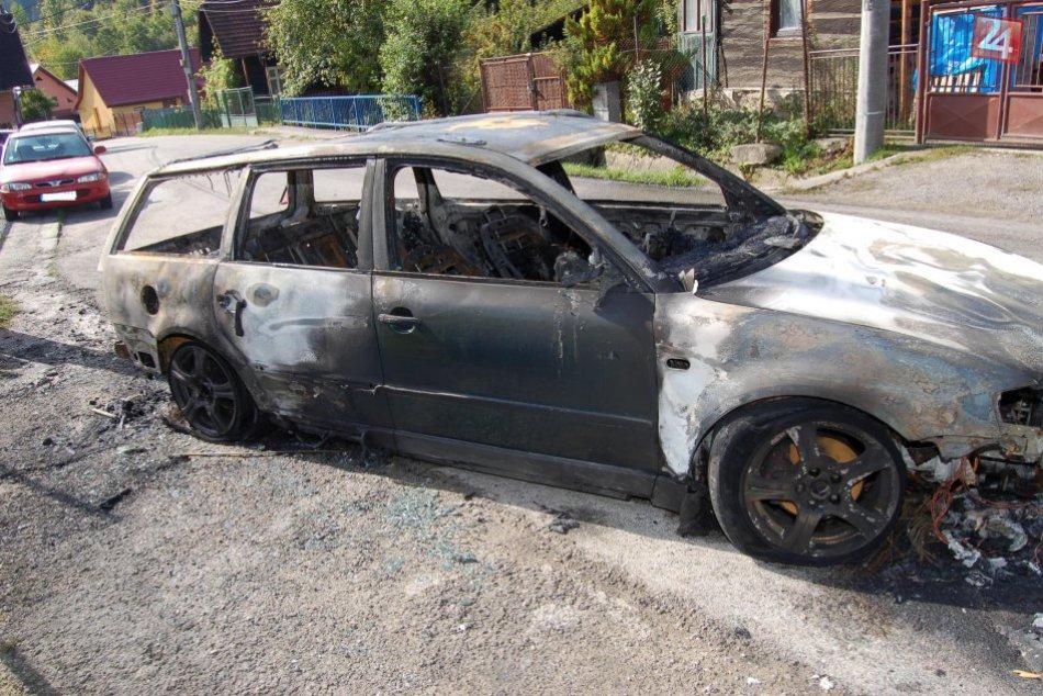 Požiar vozidla