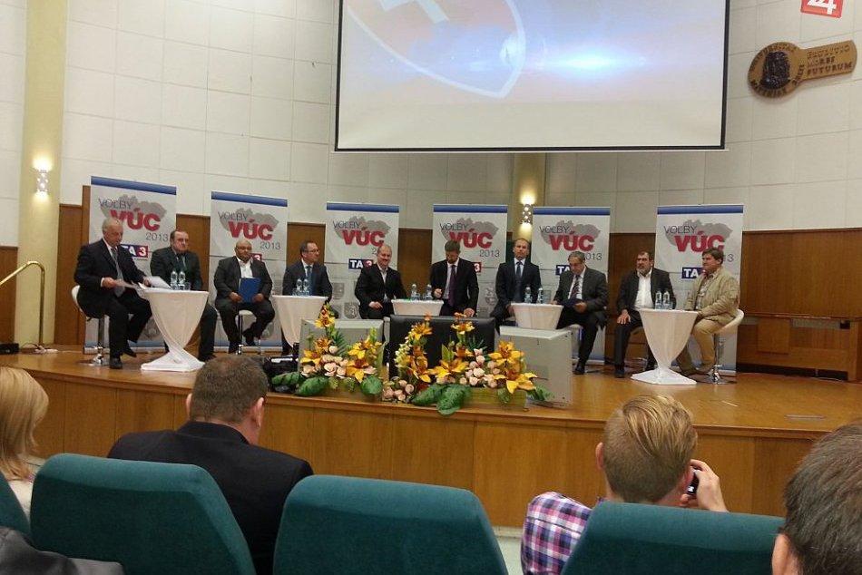 Županskej debate dominovala nezamestnanosť