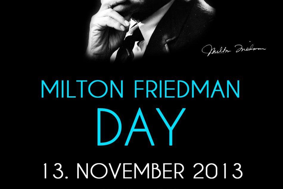 Sú myšlienky nobelistov aktuálne aj dnes? Odpovie na to Milton Friedman Day
