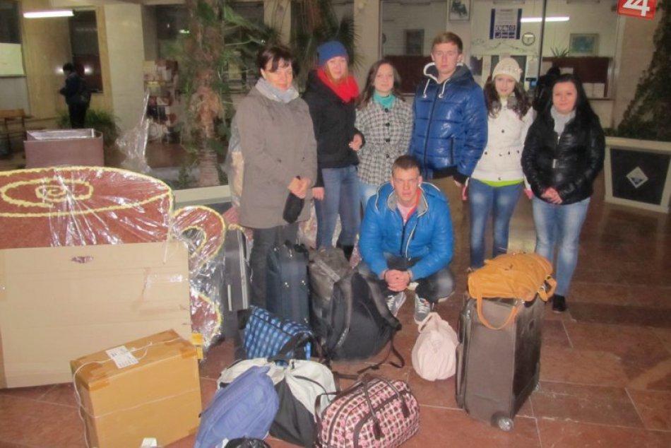 Obchoďáci so svojou cvičnou firmou v Bratislave