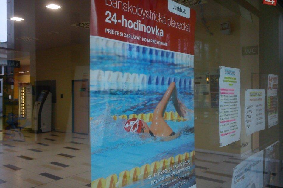 FOTO: Takto to vyzerá na Štiavničkách: Plavecká 24-hodinovka láka malých i veľký