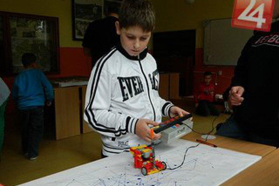 Žiaci zo Základnej školy Skýcov na Európskom týždni robotiky