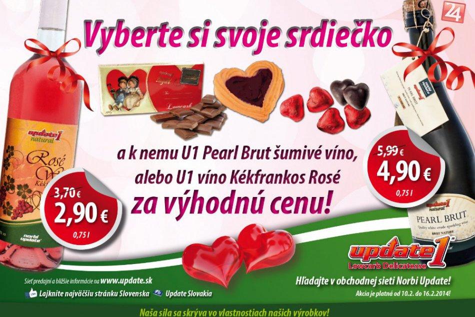 Tip pre zamilovaných: Darujte si na Valentína zdravé jedlo