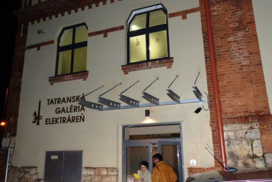 Peter Pollág vystavuje v zrekonštruovanej TG