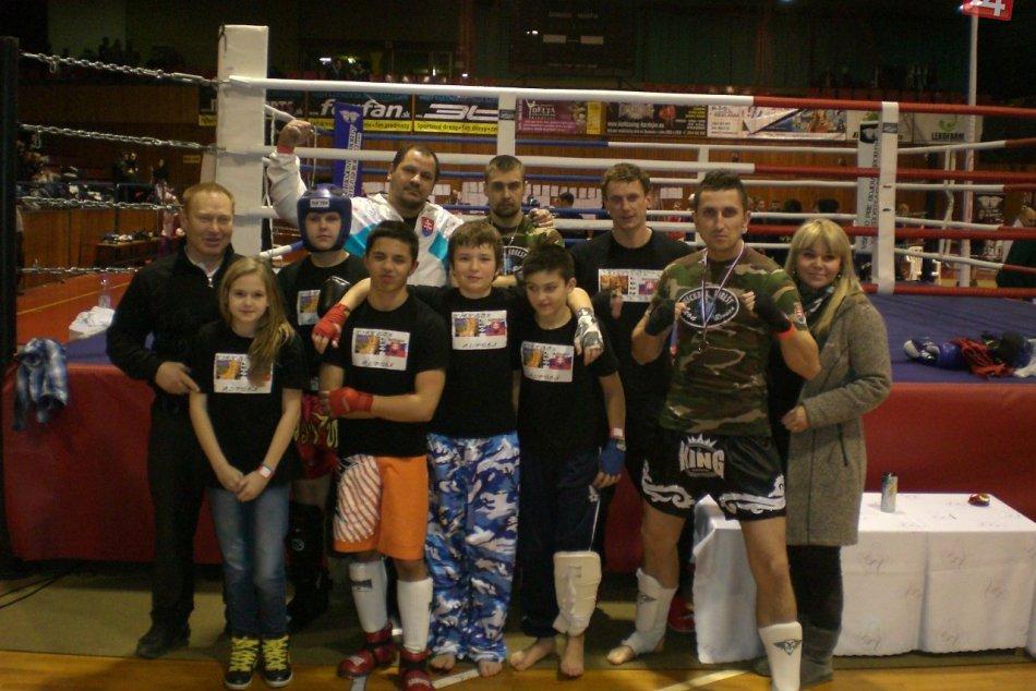 Kickbox Leon Revúca v Bardejove