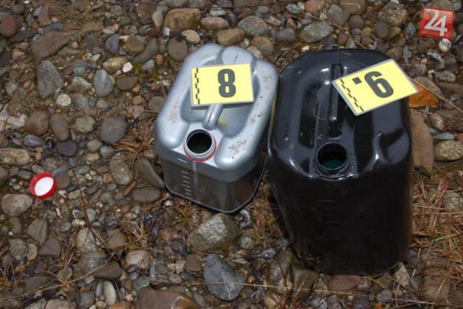 Policajti odhalili podozrivého z krádeže motorovej nafty