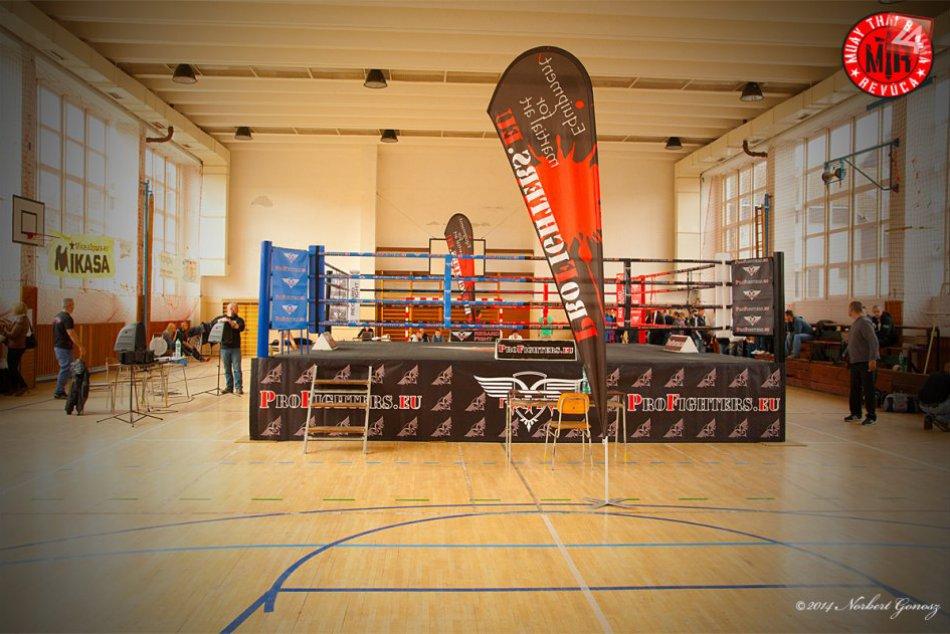 Euroliga Muay Thai v Revúcej, 16.3.2014