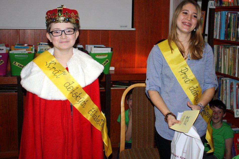 Korunovácia kráľa detských čitateľov: Malý víťaz si požičal 151 kníh!