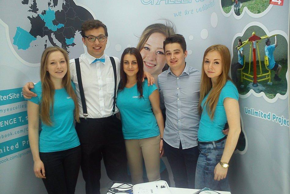 š.s. Challenge T z gymnázia v Tisovci na Veľtrhu študentských spoločností