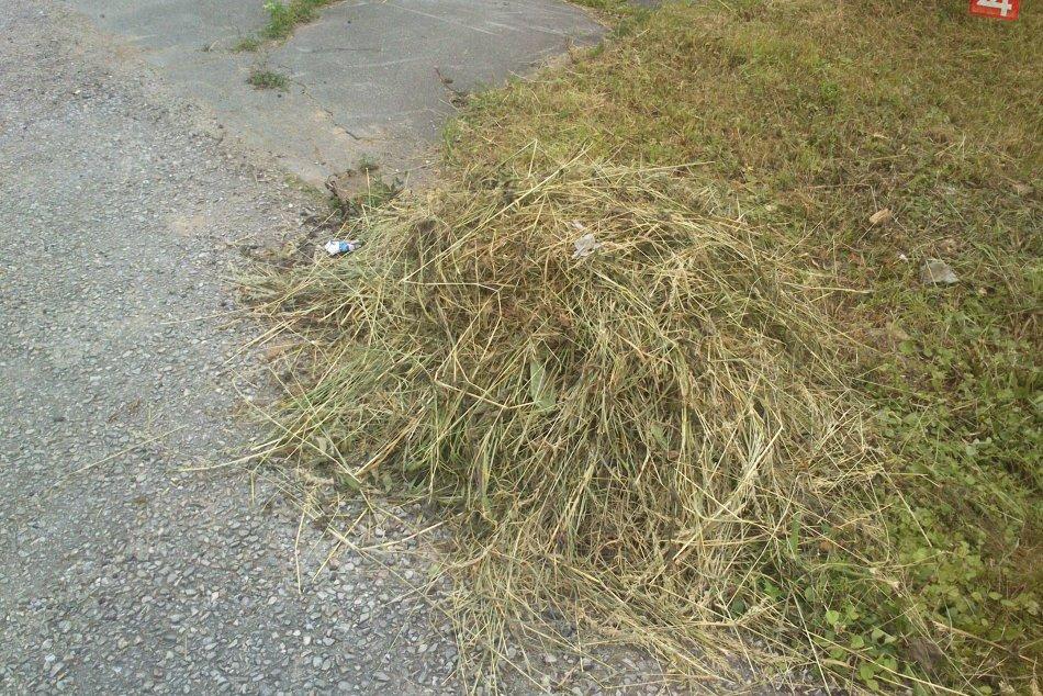 V Rožňave pokosili, ale neupratali: Takto to vyzerá v uliciach mesta!