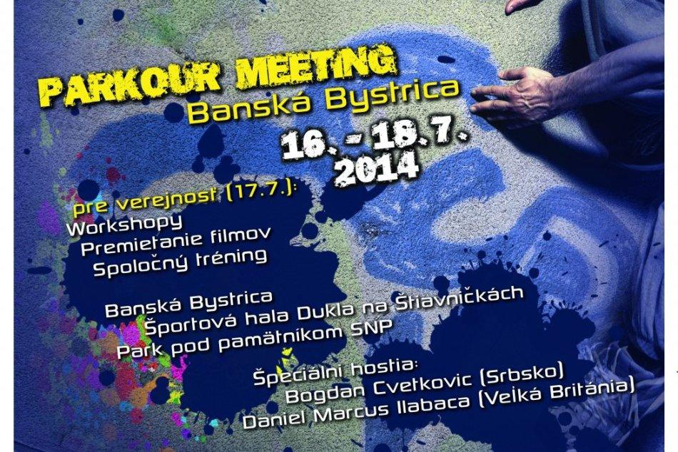 PARKOUR MEETING BANSKÁ BYSTRICA 2014 foto