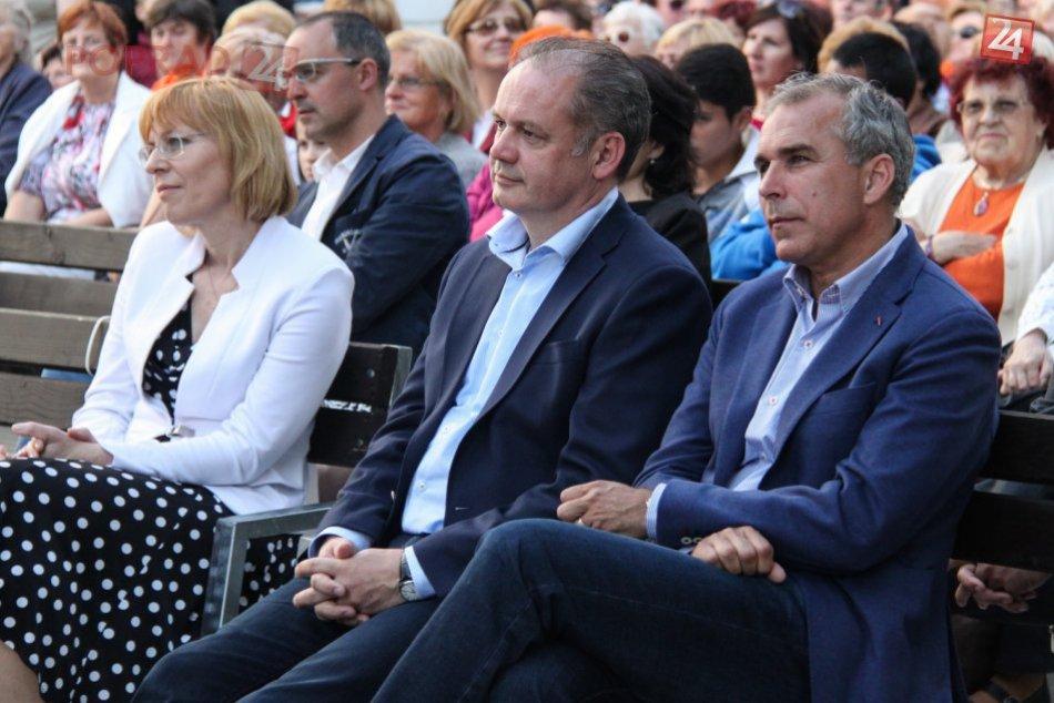 Prezident Andrej Kiska v Poprade