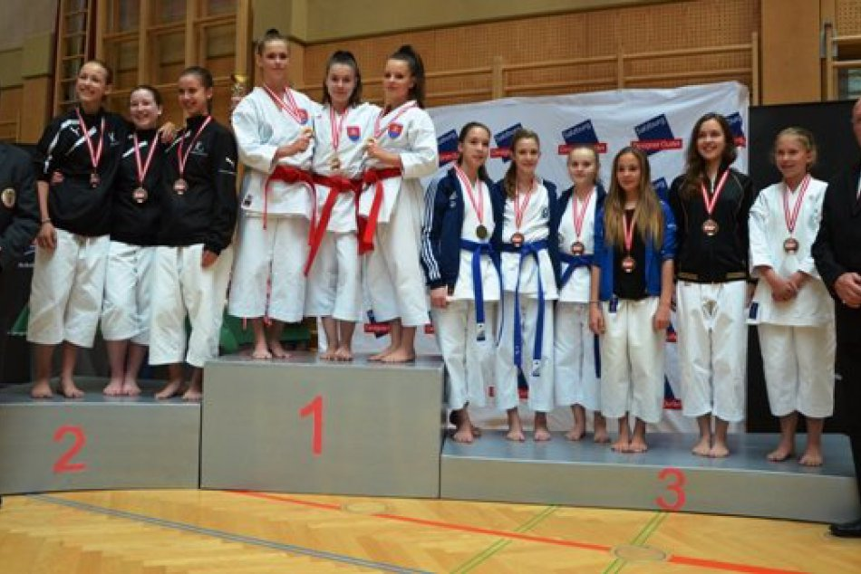 Austrian junior open karate