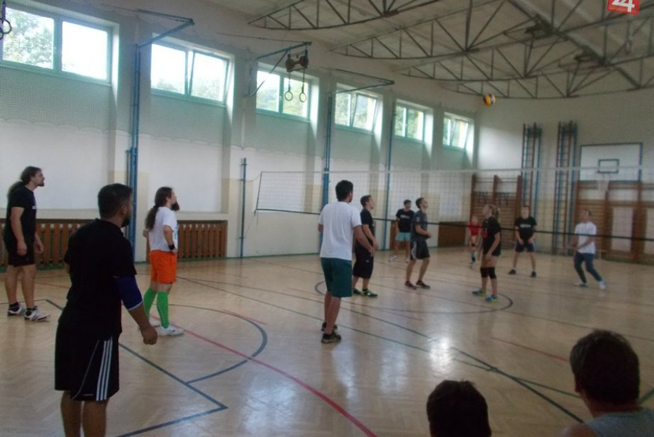 Volejbalový turnaj v Štítniku.