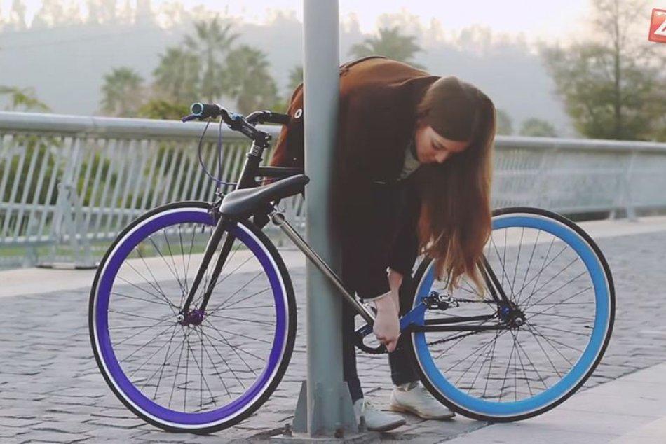 Študenti vyvinuli bicykel, ktorý sa nedá ukradnúť