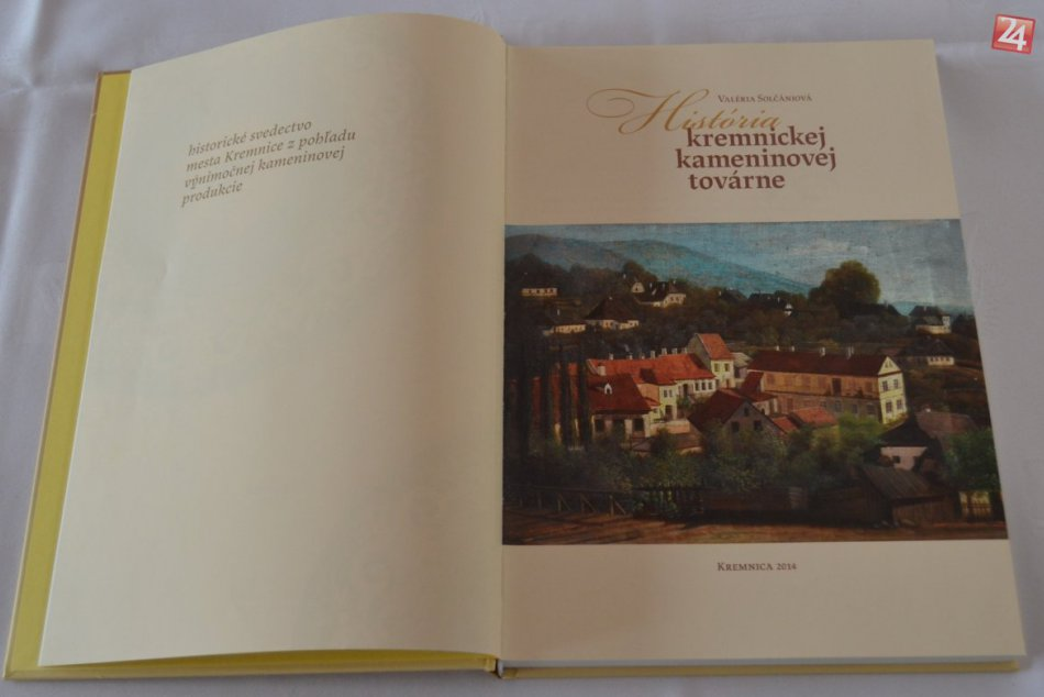 Prezentácia knihy História kremnickej kameninovej továrne