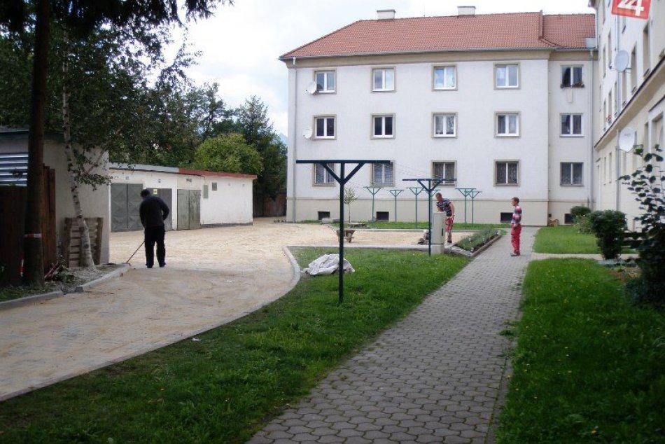 Kolaudácia vnútrobloku na ulici Dominika Tatarku