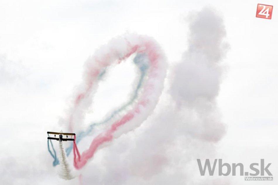 Letecké dni v Sliači opäť nesklamali a prilákali tisíce návštevníkov