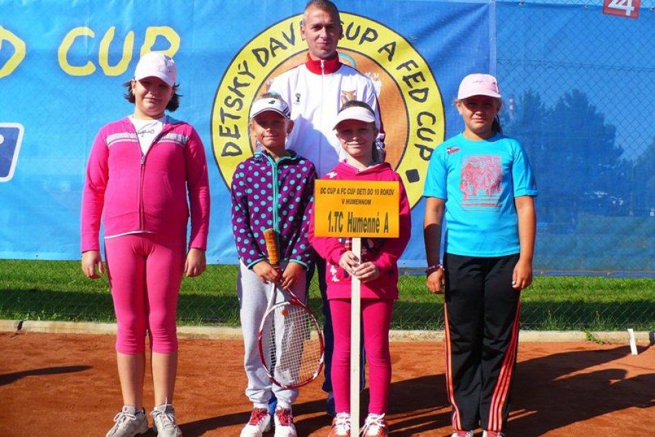 Detský Davis Cup a Fed Cup v Humennom