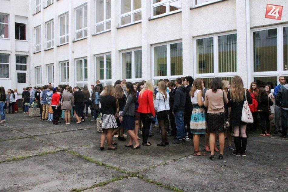 Prvý školský deň na Gymnáziu D.Tatarku