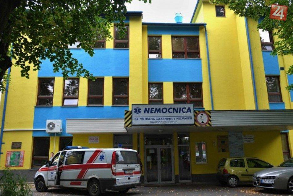 Kežmarskí poslanci nepodporili návrh na prenájom nemocnice Svetu Zdravia