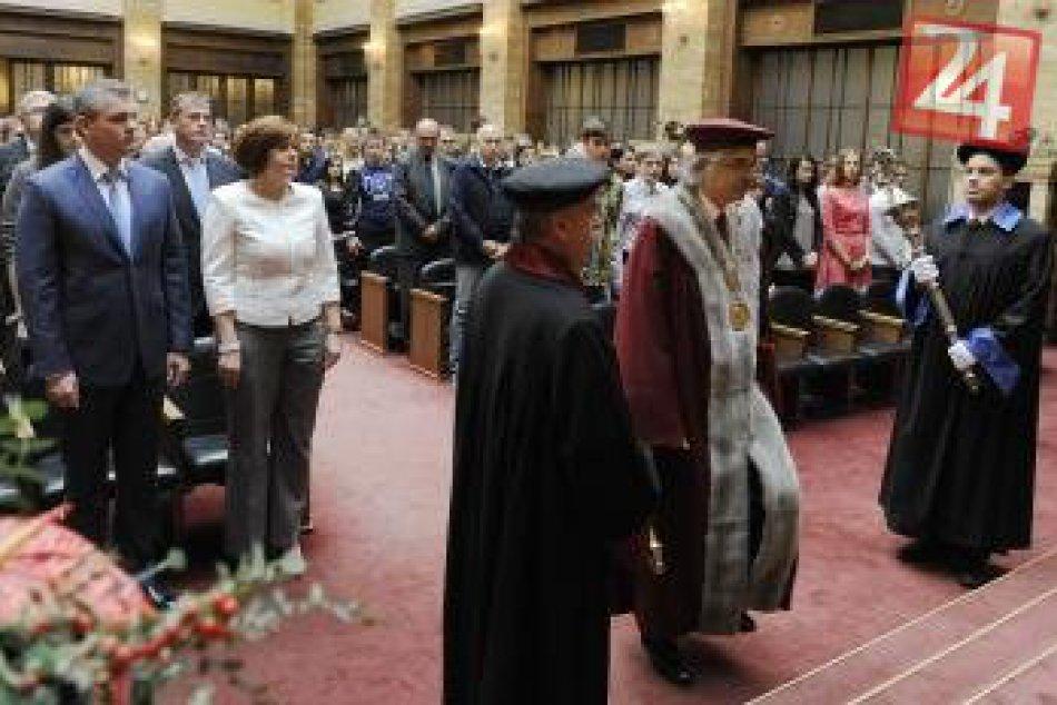 Univerzita Komenského odštartovala akademický rok