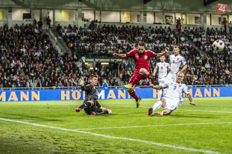 Slovensko - Španielsko 2:1 ( 1:0 )