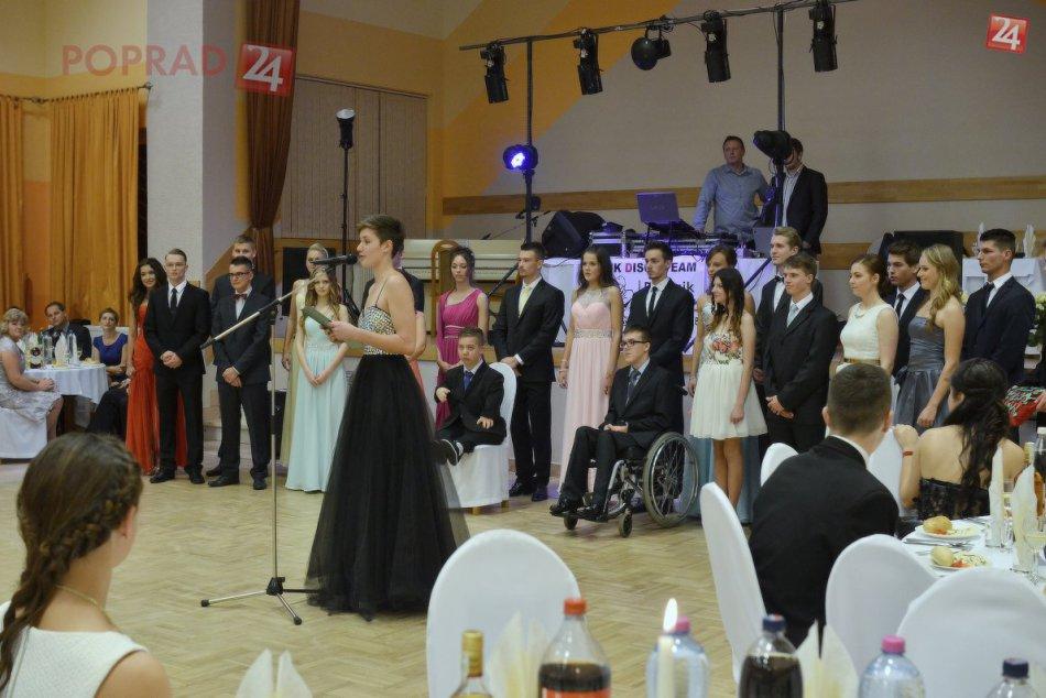 Stužková 4. D Spojenej školy na Ulici  Dominika Tatarku v Poprade