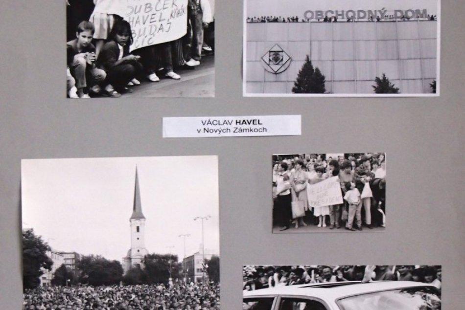 November 89 v Nových Zámkoch