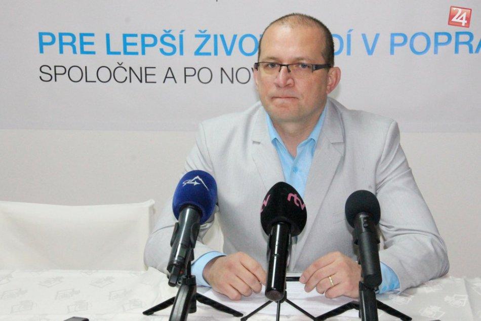Tlačovka s novým primátorom Jozefom Švagerkom