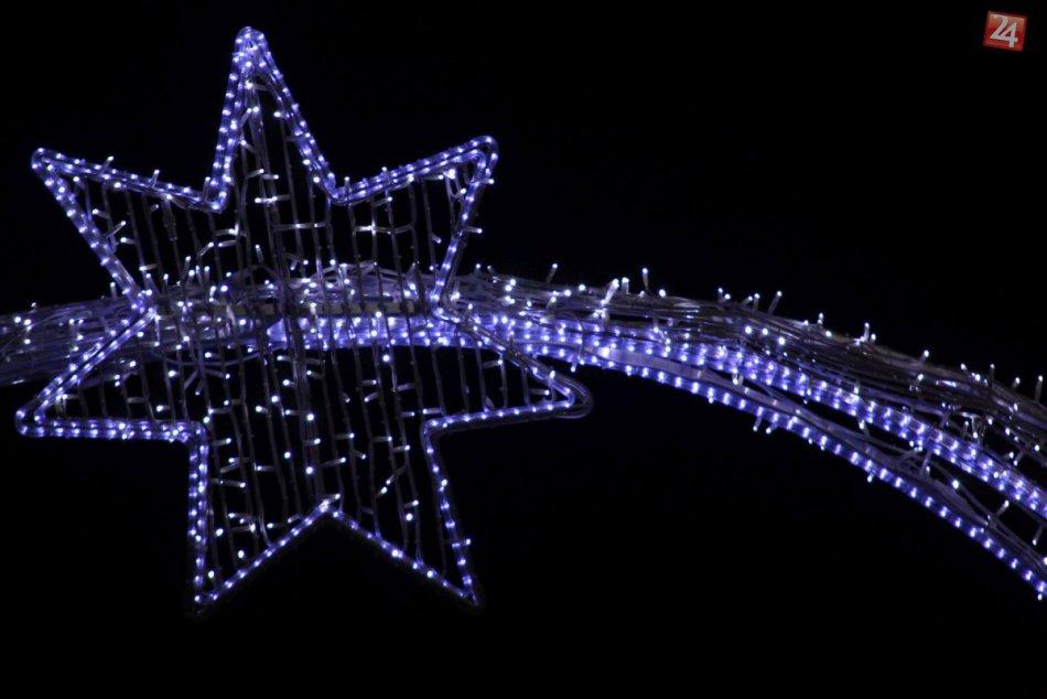 FOTO: Vianočná výzdoba v Nitre