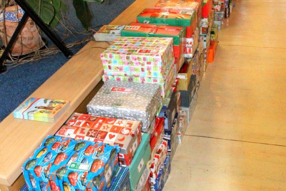 Darčeky pre sociálne slabšie rodiny