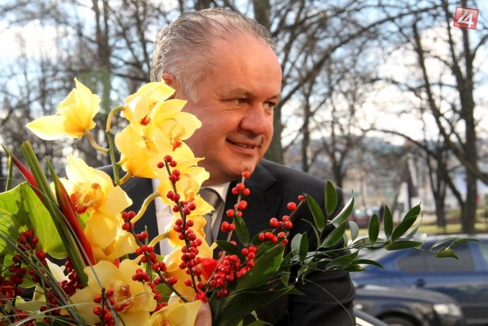 Primátor Jozef Švagerko prijal prezidenta Andreja Kisku