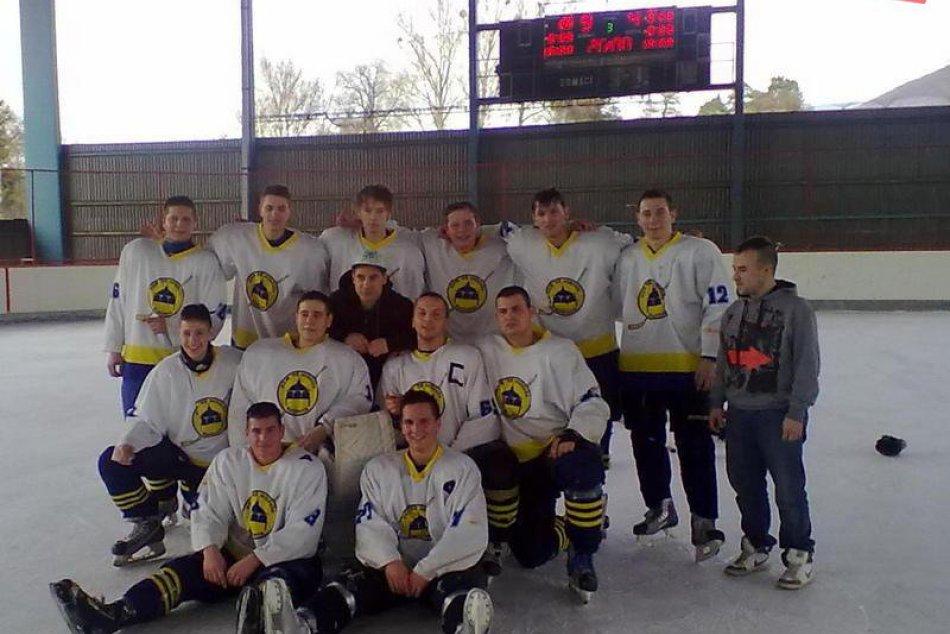 Hokejový zápas dorastencov z Rožňavy