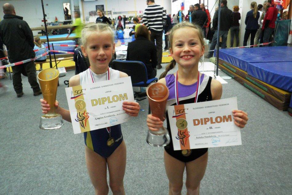 Majstrovstvá Slovenska v športovej gymnastike: Popradské dievčatá stáli na stupň