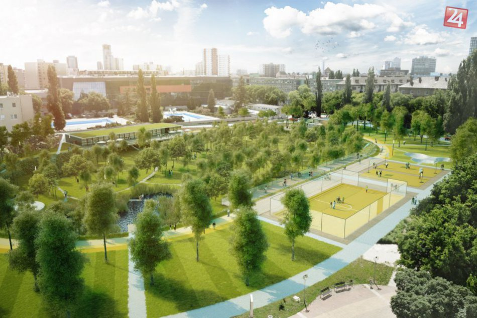 Nový športový park v bratislavskom Novom Meste