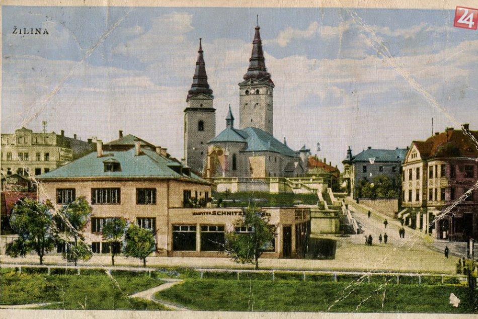 Krásne historické fotky známych miest v Žiline